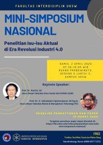 Mini-Simposium Nasional 2 April 2020