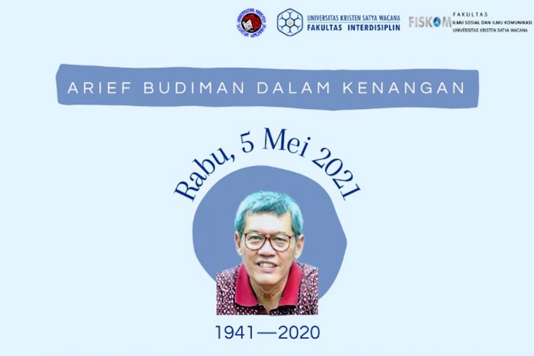 Webinar Nasional - Arief Budiman dalam Kenangan